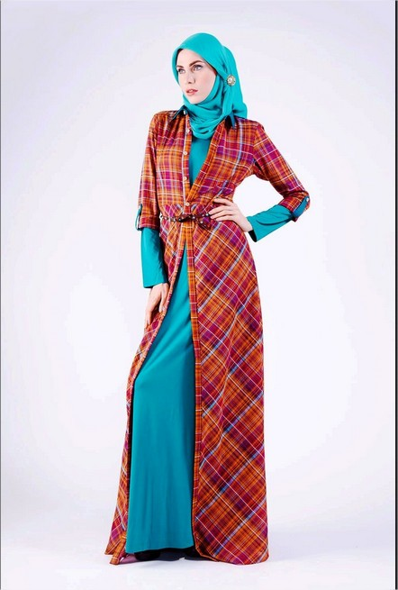 Model Baju Lebaran Muslim Terbaru 2016