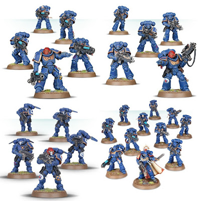 5 Guerrieri del Caos-SCHIAVI alle tenebre scelto Knights WARHAMMER Sigmar AOS