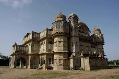 Vijay Vilas Palace, Mandvi, Gujarat