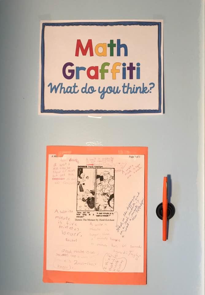 Generate Great Conversations With Math Graffiti