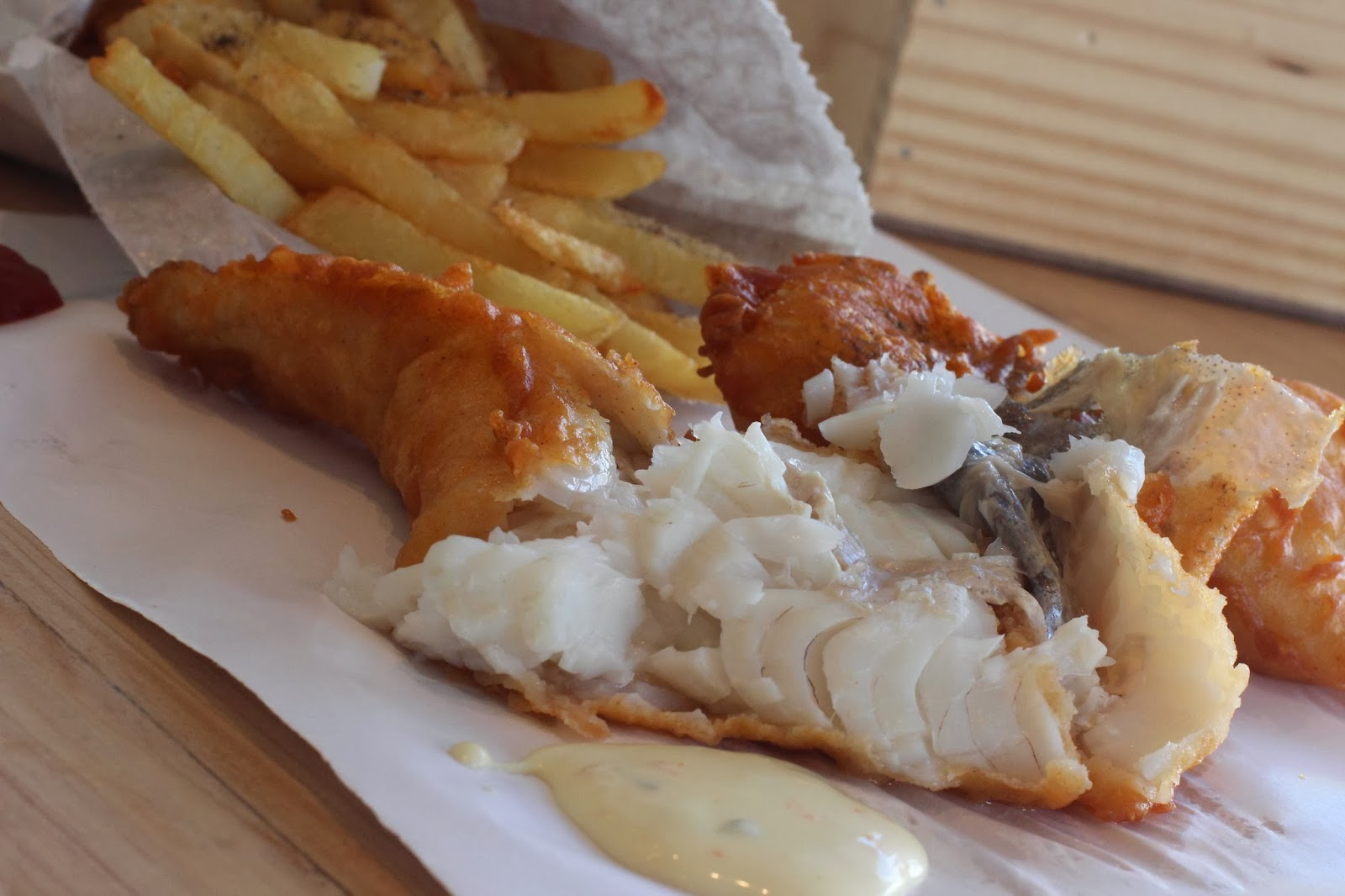 Cape Town Diva Fish And Chips In The City
