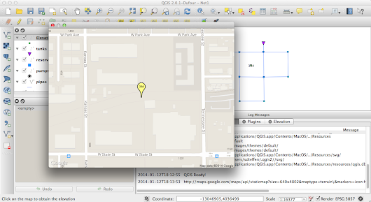QGIS Elevation Plugin 0.4.0 does not require a browser any more