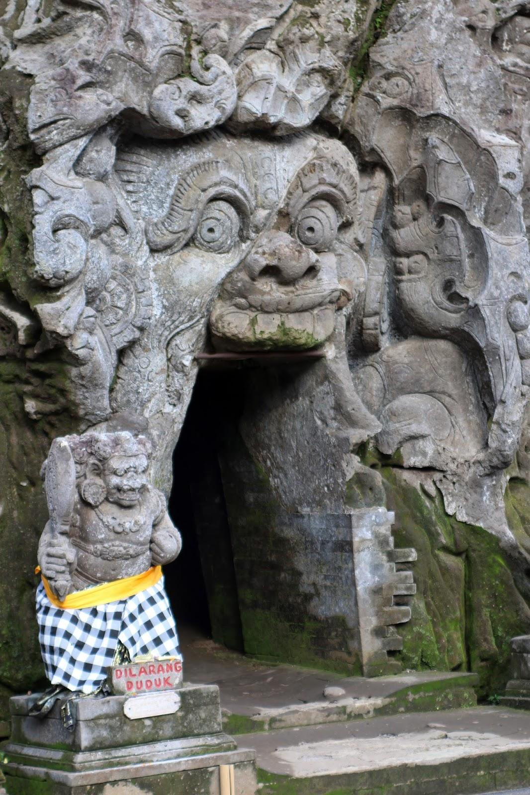 Plus Size Kitten: Elephant Cave (Goa Gajah) Bali