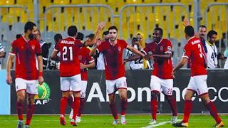 نتيجة مباراة الأهلي وحوريا اليوم الجمعة 14-9-2018 ضمن مبارايات دوري أبطال أفريقيا