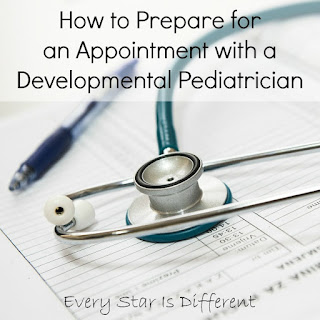 How to prepare for an appointment with a developmental pediatrician