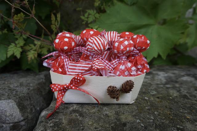 DIY pour un anniversaire Petit Chaperon Rouge