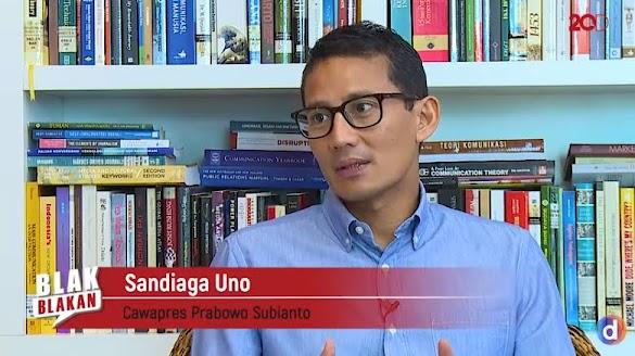Cerdas & Santun, Wawancara Blak-Blakan Sandiaga Uno di DetikTV