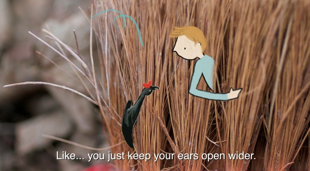 the art room plant: Nature animations featuring the work of