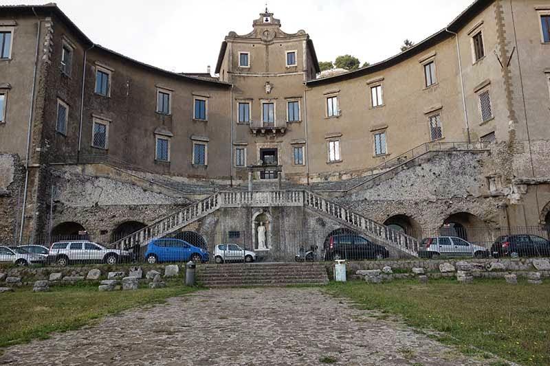 Entrada do Museu Arqueológico de Palestrina