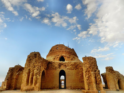 Sarvestan Palace in Fars Province, Iran