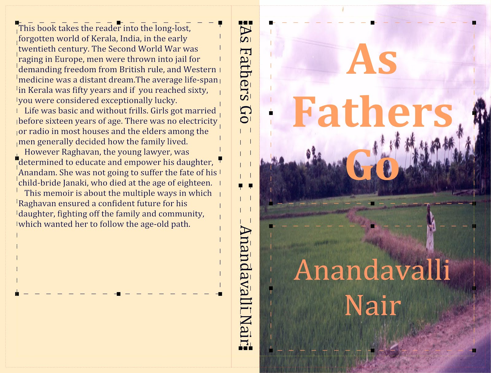As Fathers Go by Anandavalli Nair
