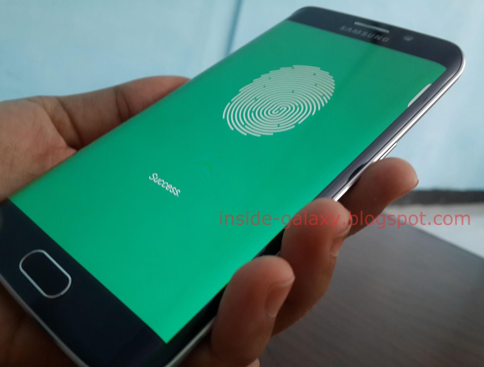 Samsung Galaxy S6 Edge: How to Use Fingerprints as Screen Lock