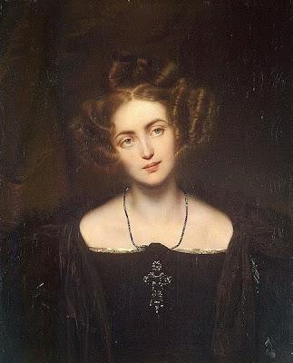 Henriette Sontag by Paul Delaroche, 1831