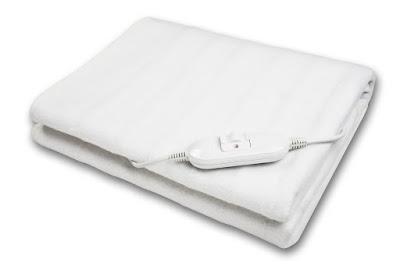 Medisana HUB - Calienta camas eléctrico, color blanco