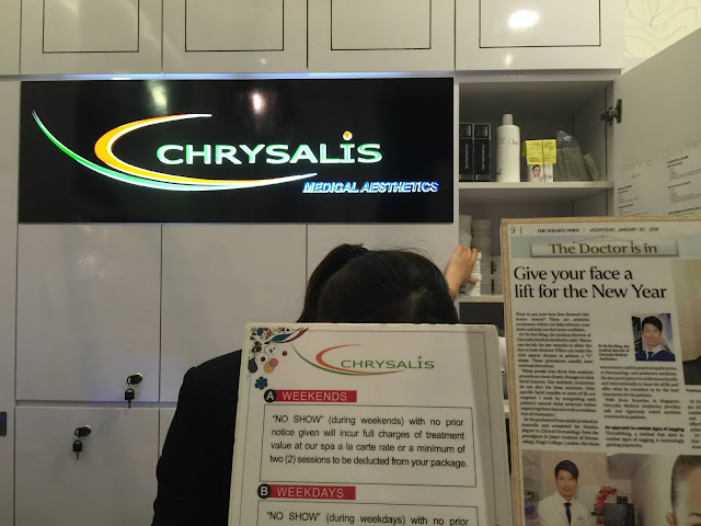chrysalis medical aesthetics review singapore