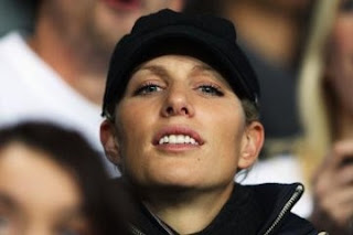 Zara Phillips, the Face of Cantor Index