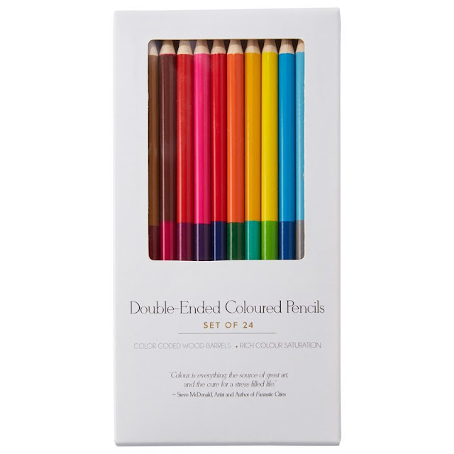 Chapters Indigo crayons couleur