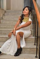 Actress Ishita Latest Stills in White Long Dress at Ippatlo Ramudila Seethala Evaruntaarandi Babu movie Audio Launch  02.jpg