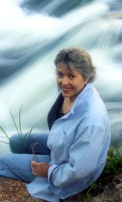 Sorchia DuBois, author of the Zoraida Grey Series