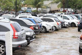 Detran vai leiloar 904 veículos apreendidos por infração na Paraíba