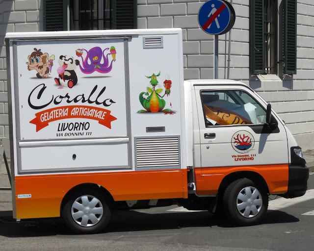 Corallo Gelateria Artigianale, Corallo Homemade Ice Cream, Piazza Cavour, Livorno