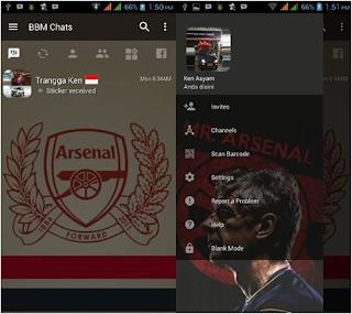BBM MOD Arsenal V3.2.0.6 Apk