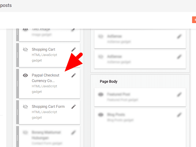 Blogger Shopping Cart Widget Installer