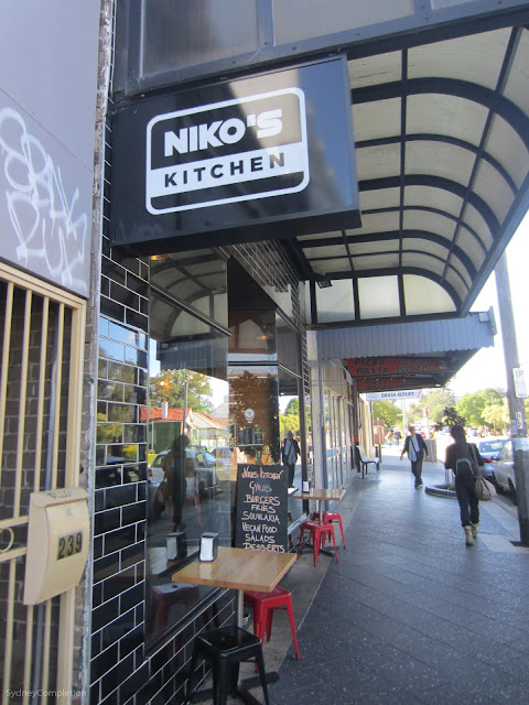 Niko's kitchen restaurant.