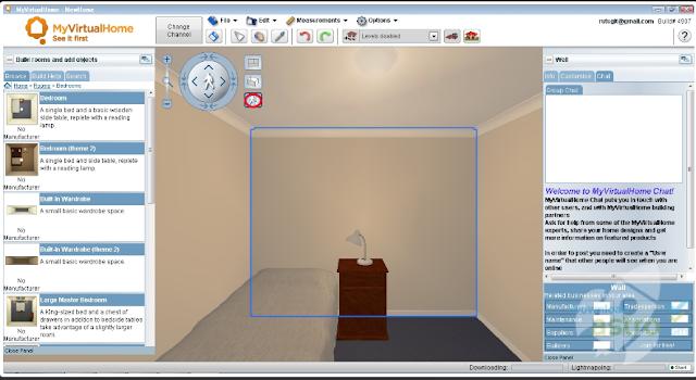 Software Desain Rumah - ( MyVirtualHome )