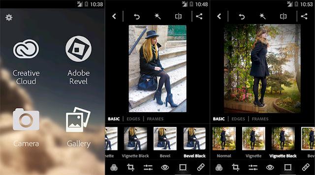 Screenshot Adobe Photoshop Express Premium