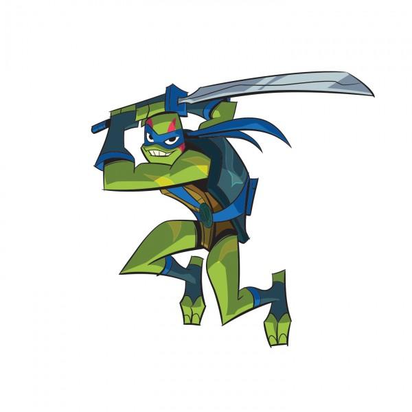 Leonardo y su espada Odachi