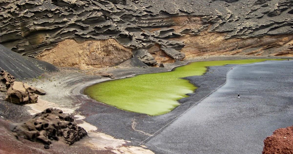Las imágenes que yo veo: Lanzarote. El Golfo. Una laguna ...