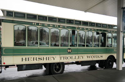 Hershey Trolley Works Sightseeing Tour in Hershey, Pennsylvania
