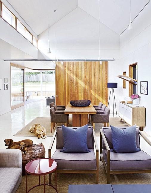 interior actual con muebles de diseño contemporaneo chicanddeco