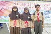 Kenangan SMP DH Padamara Lomba Olimpiade Sains (OSN) Lombok Timur