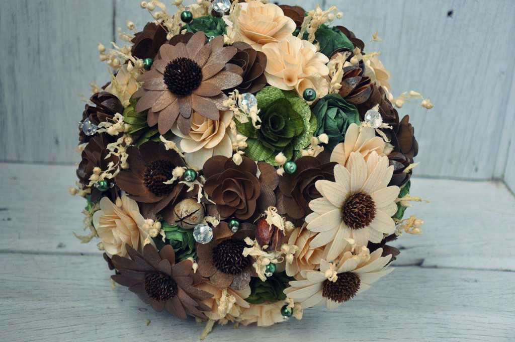 Artificial Wedding Bouquets Crystals