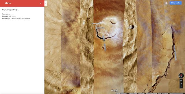 Explora el sistema solar Google Maps