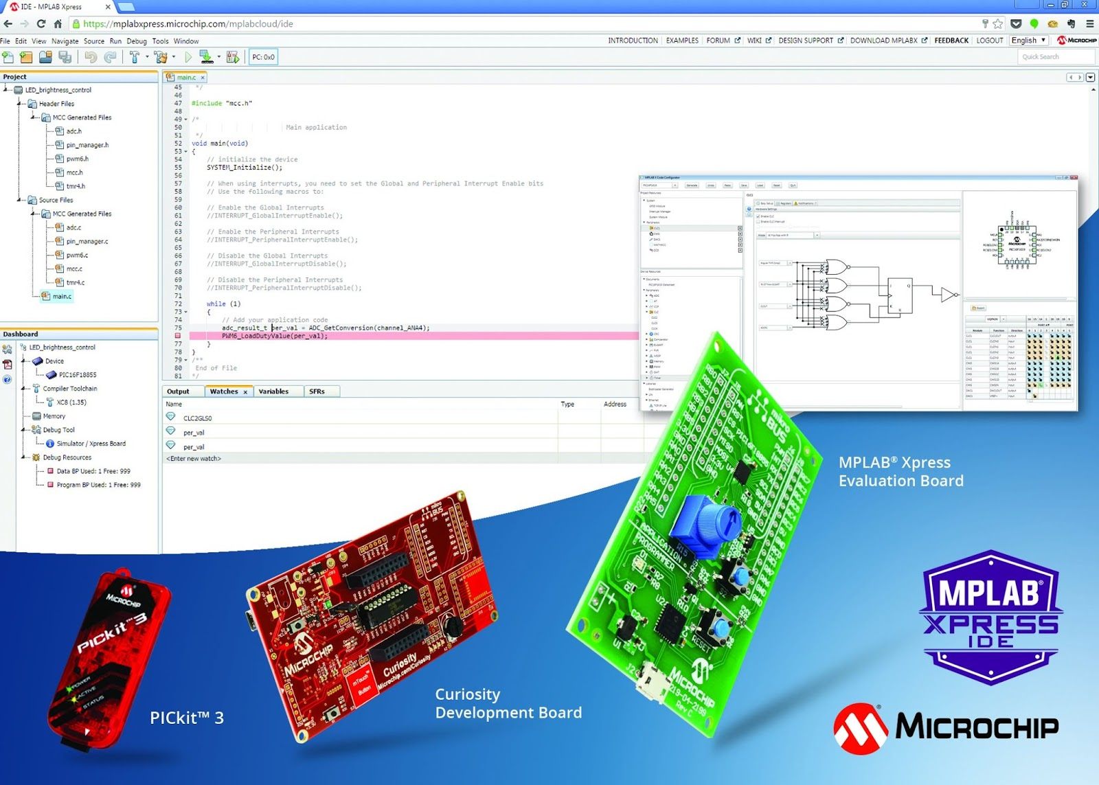 The Embedded Blog: Microchip takes on mbed with cloud-based