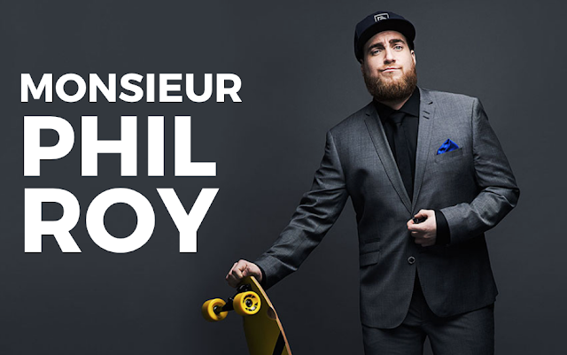 spectacle humour Monsieur Phil Roy