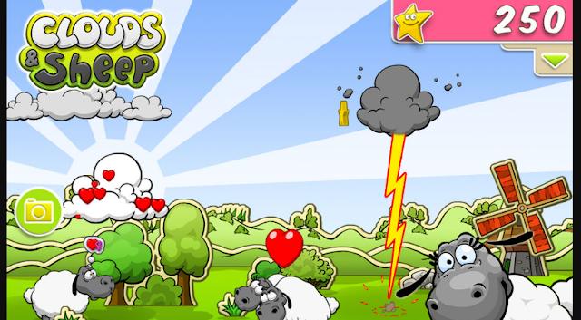 تحميل لعبة Clouds and Sheep