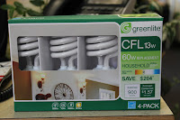 Greenlite CFL 13 watt 4-pack