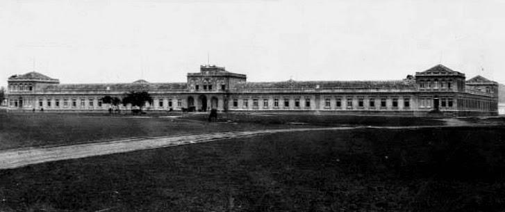 Escola de Guerra, em 1910, Porto Alegre.