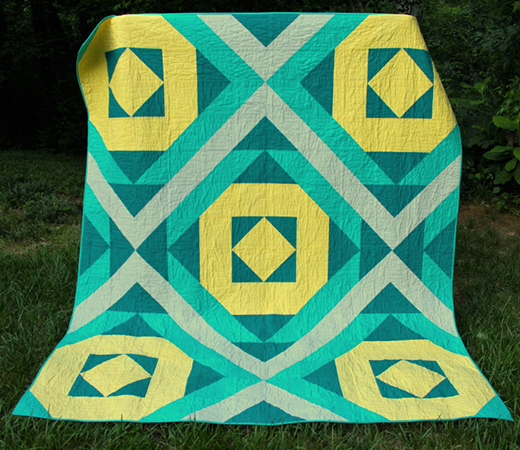 Shades of Southwest Quilt Free Pattern