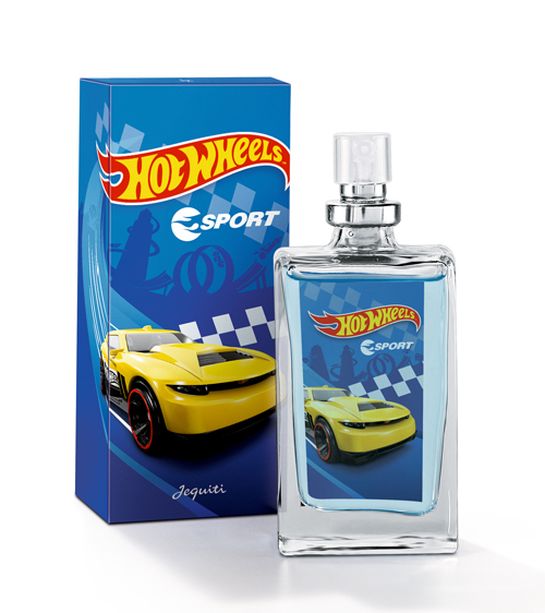 Colônia Jequiti Hot Wheels Sport