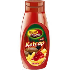 ketçap ters şişe