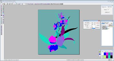 anseries design pemisahan warna
