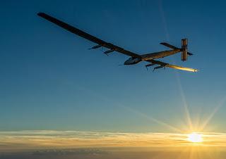Solar Impulse è atterrato ad Abu Dhabi