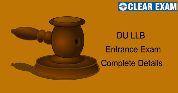 DU LLB Entrance Exam 2021