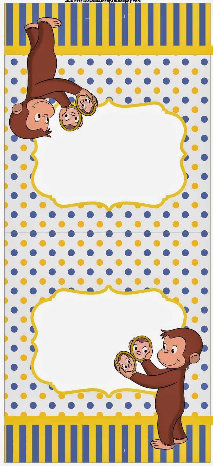 Curious George Free Party Printables. | Oh My Fiesta! in ...