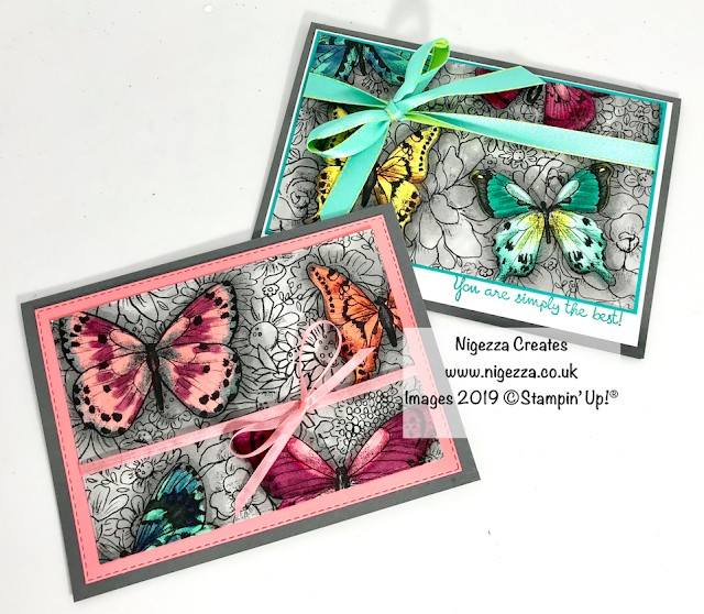 "Botanical Butterflies Sale-A-Bration Stampin"" Up! Nigezza Creates"